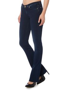 7 For All Mankind Slim illusion skinny bootcut jean in rich indigo
