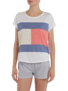 Tommy Hilfiger Ashleigh logo short sleeve t shirt