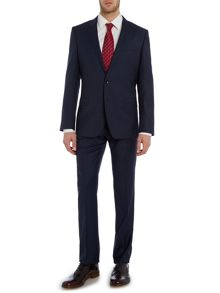 Hugo Boss Huge Genius Tonal Check Suit
