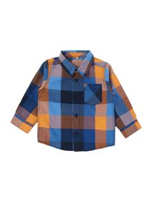 Boys Multi check shirt