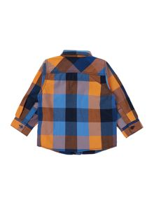 name it Boys Multi check shirt