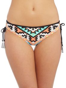 Seafolly Kasbah tie side hipster brief