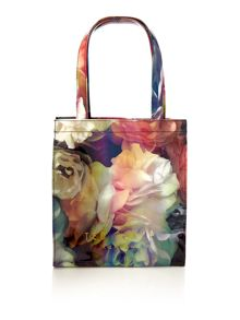 Ted Baker Dowcon multi-coloured small print tote bag