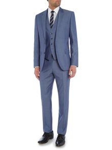 Hugo Boss Huge Genius Silk Wool Three-Piece Suit