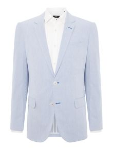 Hugo Boss Hedson Gander Seersucker Stripe Suit