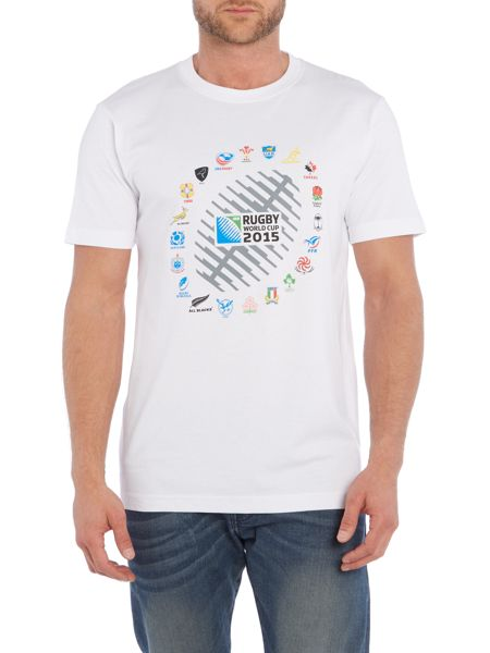 Rugby World Cup 2015 2015 20 Nations ball graphic crew tshirt