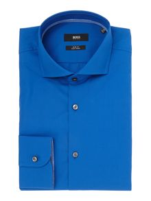 Hugo Boss Jery Slim Solid Contrast Shirt