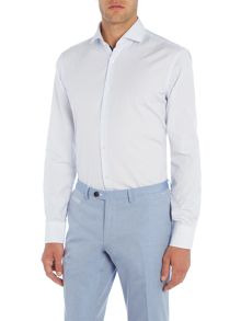 Hugo Boss Jery Slim Stripe Contrast Shirt