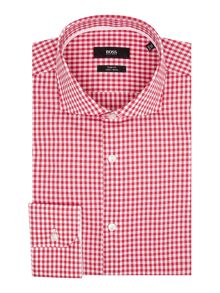 Hugo Boss Jery Slim Gingham Contrast Shirt