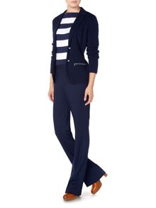 Trudy classic blazer with zip pockets