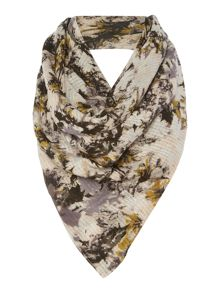 Gray & Willow Printed Loose Weave Scarf
