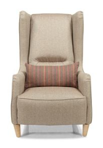 Linea Cedar Wing Chair