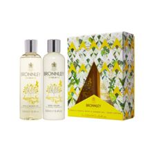 Bronnley Lemon & Neroli Bath & Shower Gel and Body Lotion