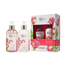 Bronnley Rose Hand Wash and Hand Lotion 2 x 250ml
