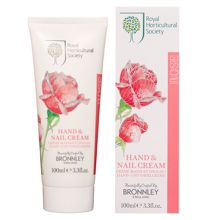 Bronnley Rose Hand & Nail Cream 100ml