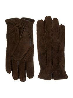 Mens suede gloves