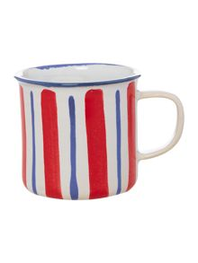 Regatta Vertical Stripe Mug