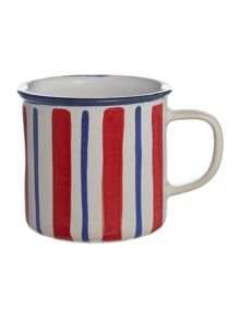 Linea Regatta Vertical Stripe Mug