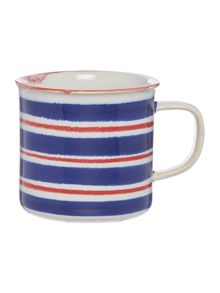 Regatta Horizontal Stripe Mug