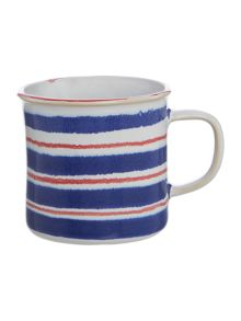 Linea Regatta Horizontal Stripe Mug