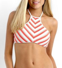 Seafolly Coast to coast high neck tank top