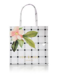 Ted Baker Trelcon bowcon white floral large tote bag