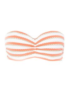 Seafolly Coast to coast bandeau bikini top