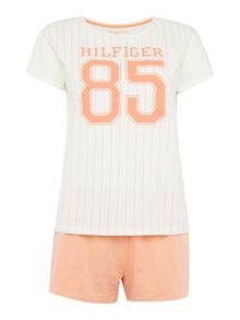 Tommy Hilfiger Penne short sleeve pyjama set