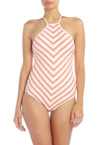 Seafolly Coast To Coast High Neck Maillot