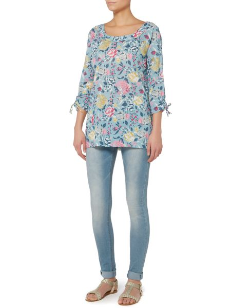 LILY & ME Floral print tunic