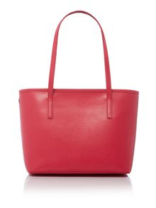 Ted Baker Ritaa pink saffiano bow small tote bag