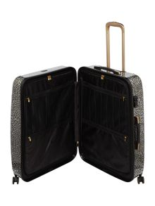 Biba Amure animal print 8 wheel hard large suitcase