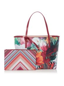 Lillyia multi large saffiano tote bag