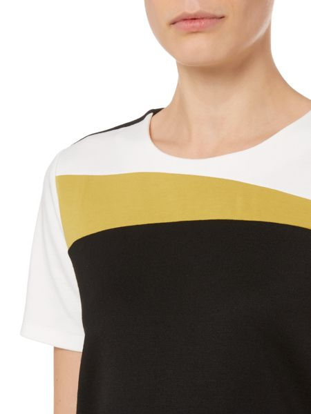 Therapy Colour Block Shell Top