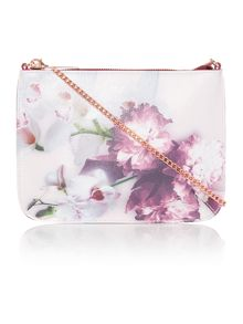 Ted Baker Cailey pink floral cross body bag