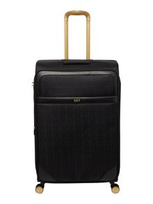 Biba Opulence jacquard 8 wheel soft large suitcase