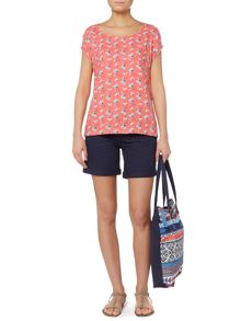 LILY & ME Dandelion printed woven top
