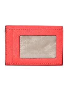 Jetset travel coral coin purse