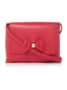 Ted Baker Angiee pink leather small crossbody