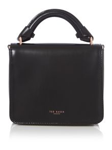 Ted Baker Juliee black leather small crossbody