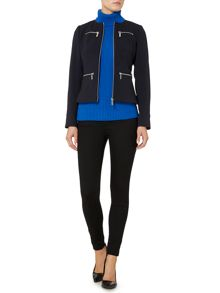 Michael Kors Zip peplum jacket