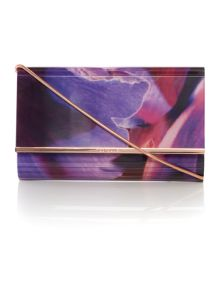 Ted Baker Chasidy multi floral crossbody clutch bag