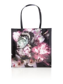 Criscon bowcon black large tote bag