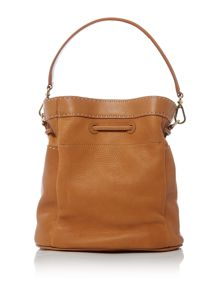 Ted Baker Kashia tan large bucket crossbody