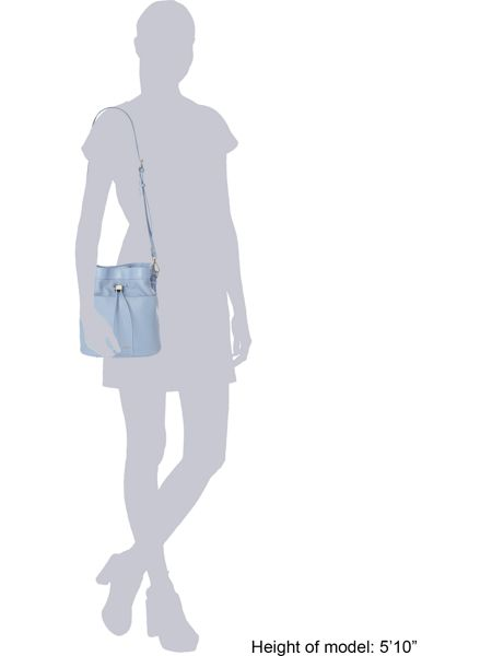 Ted Baker Kashia light blue large bucket crossbody