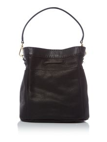 Ted Baker Kashia black large bucket crossbody