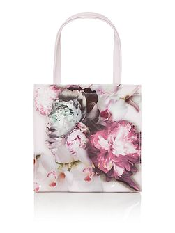 Ted Baker Shelcon pink floral small bowcon tote