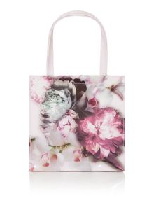 Ted Baker Shelcon pink floral small bowcon tote bag