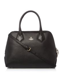 Vivienne Westwood Spencer medium black grab tote bag