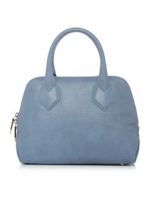 Vivienne Westwood Spencer small blue grab tote bag